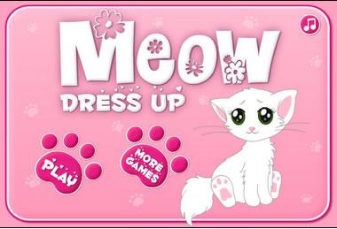 Macska öltöztetős